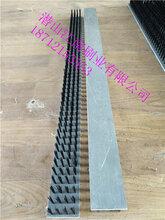 PVC条刷木头砖机条刷工业毛刷密封条刷除尘挡水条刷