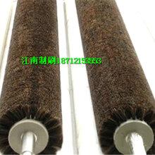 毛刷辊清洗毛刷辊钢丝辊工业毛刷辊