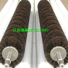 钢管除锈钢丝辊抛光钢丝辊除锈抛光机钢丝辊