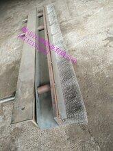 环冷机进料口密封钢刷漏风处理密封刷烧结厂环冷机台车