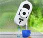 萌萌噠的擦窗機器人