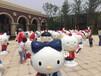 天津2016出售玻璃钢卡通喜羊羊胡巴大圣归来蓝精灵史努比