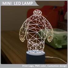 厂家直销批发3D立体小夜灯多种款式可选为企业个人量身定制图片