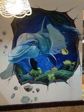 衡阳主题餐厅土菜馆私房菜夜宵店墙绘壁画油画彩绘装修