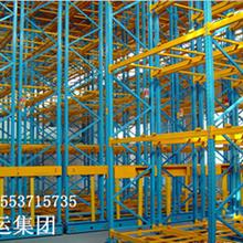 山东移动仓库货架有轨电动移动货架图片