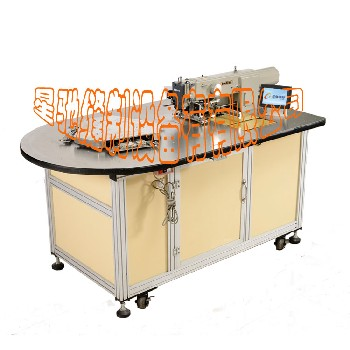 星馳自動轉盤三工位送料鞋面花樣機自動轉盤三工位送料電腦花樣機