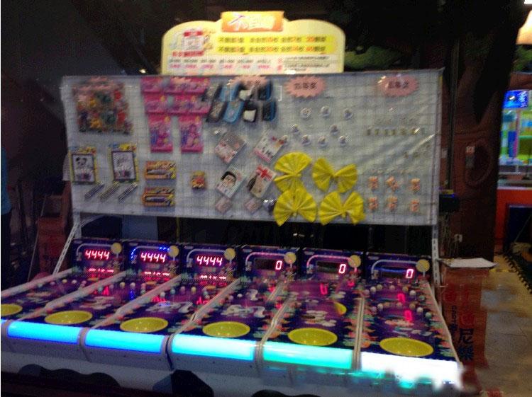 不倒翁摊位游戏机不倒翁兑换礼品游戏机儿童广场投币游戏机