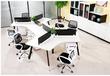 天津办公电脑桌、简约现代职员工作位、