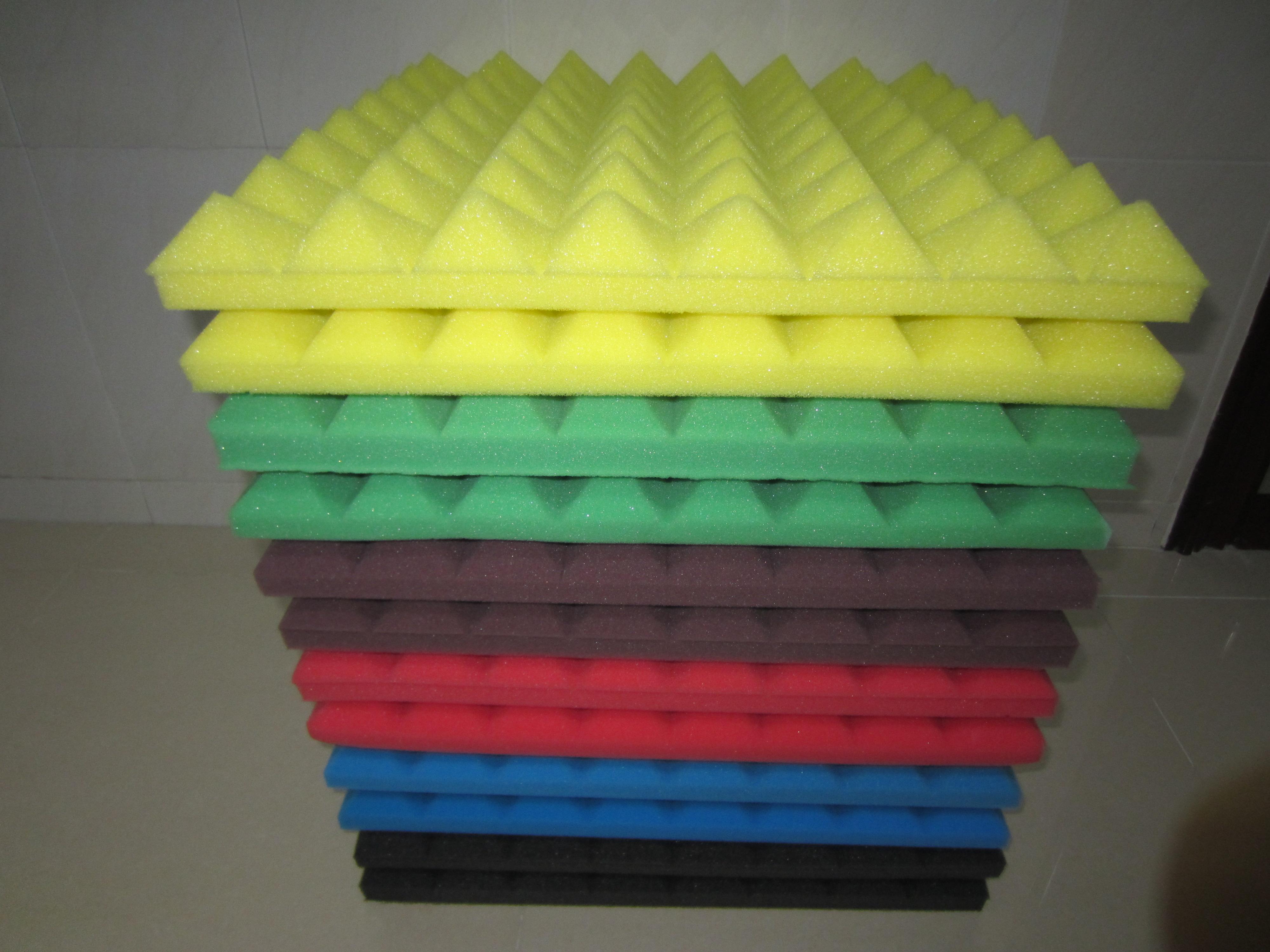 鸡蛋棉和金字塔吸音棉哪个吸音棉效果好