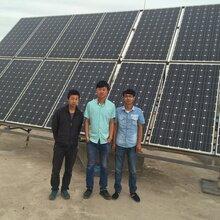 内蒙额济纳旗2400W太阳能光伏发电设备内蒙风力发电厂家