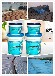彩钢瓦板房防水涂料金属屋面防腐防锈材料外露型彩色硅橡胶