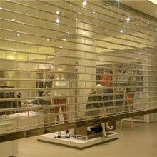 津南区水晶卷帘门安装,天津水晶门厂家图片