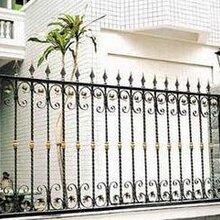 宁河区安装庭院护栏,定做铁艺围栏,铁艺大门图片
