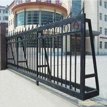 西青区加工�铁艺大门/门楼/平移门厂家欢迎�e咨询图片