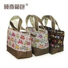 硕奇厂家生产定制便携饭盒包野餐包超市购物手提牛津布饭盒袋图片