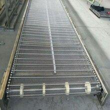 不銹鋼帶式輸送機網帶輸送機耐高溫網帶式輸送機工件冷卻線圖片