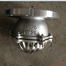 底阀厂家专业生产法兰底阀不锈钢底阀H42W底阀图片