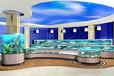 无锡定做鱼缸制作鱼缸海鲜城海鲜池安装大闸蟹缸制作