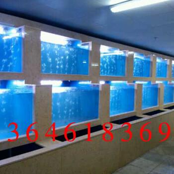 常熟定做鱼缸订做鱼缸制作海鲜池