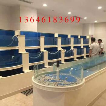 苏州专业设计制作定做鱼缸订做鱼缸制作海鲜池