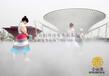 武汉金恒德环保科技-户外游乐园喷雾降温设备