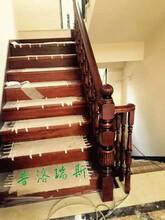 惠州室内楼梯安装过程现场教您家庭实木楼梯如何保养图片