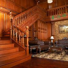 普洛瑞斯实木楼梯具亲和力保证家居环境健康图片