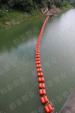 一体式拦污浮筒简易式有效隔绝垃圾浮筒厂家