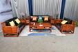 浙江东阳红木家具新中式的沙发刺猬紫檀多少钱厂家直销