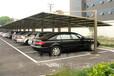 常德地区钢膜结构车棚阳光板车棚耐力板车棚过道棚定制