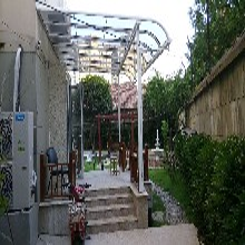 厂家直销铝合金高档窗台棚、阳台棚、遮阳棚、各种车棚,诚招代理