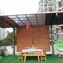 铝合金窗台雨棚阳台雨棚遮阳棚过道棚及车棚定制