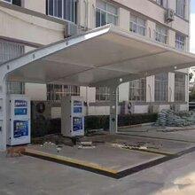 湘潭全境钢膜结构车棚阳光板车棚耐力板车棚过道棚定制