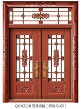 河南全新门业QX-62118双开拼接门
