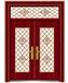 QX-62101双开拼接门(环保G-09)