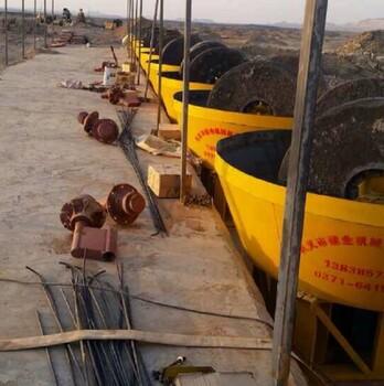 東南亞、南美洲、非洲金礦暢銷的選金設備1200型碾金機、選金機、混汞碾子建業機械制造