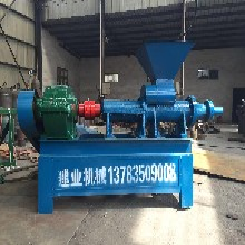 机制木炭设备炭粉成型机兰炭制棒机竹炭粉制棒机木炭机及轮碾搅拌机图片
