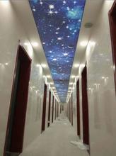 廠家直銷UV噴繪打印膜室內吊頂拉布燈箱超薄高清軟膜天花透光膜圖片