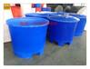 厂家供应500L食品级圆桶pe活虾鱼运输进口材质水产桶