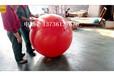 专业生产纽约港航道浮球800mm食品级PE塑料浮球