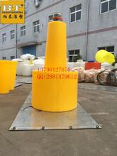 专业生产水库拦渣浮筒水电站拦污排填充发泡塑料浮体图片