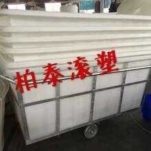 绍兴防腐蚀落布车扬州布头车方桶菏泽K-1100L纺织推布车图片