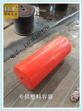 阿坝州三关桥水电站直径40cm自浮式拦污浮筒图片