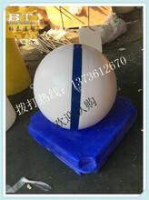 常州50公分无污染水产养殖浮漂塑料浮球图片