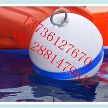 水上40公分单耳警示浮球养殖塑料浮漂图片