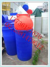 供应环保塑胶浮球穿绳子警示浮球图片