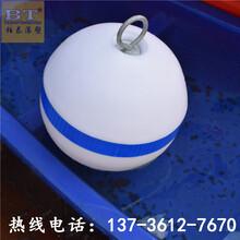 中间穿孔浮球塑料浮子批发价格图片