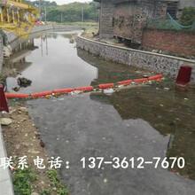 福安对夹式拦污漂排河道自浮式拦污浮体图片