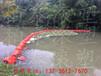 九江入水口拦污漂排夹网塑料浮筒