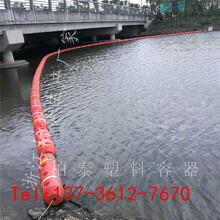 水库塑料拦污浮筒批发价格图片